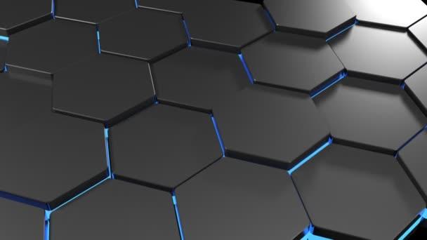 Sechseckige Textur 02 - blue.avi Video #1