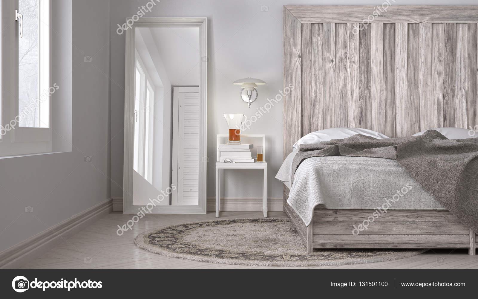 Diy Voor Slaapkamer : Diy slaapkamer bed met houten hoofdeinde scandinavische wit eco