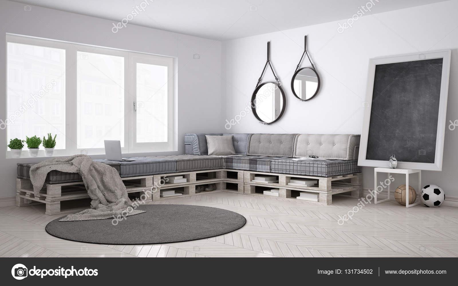 canap canap bricolage palette scandinave blanc vivant. Black Bedroom Furniture Sets. Home Design Ideas