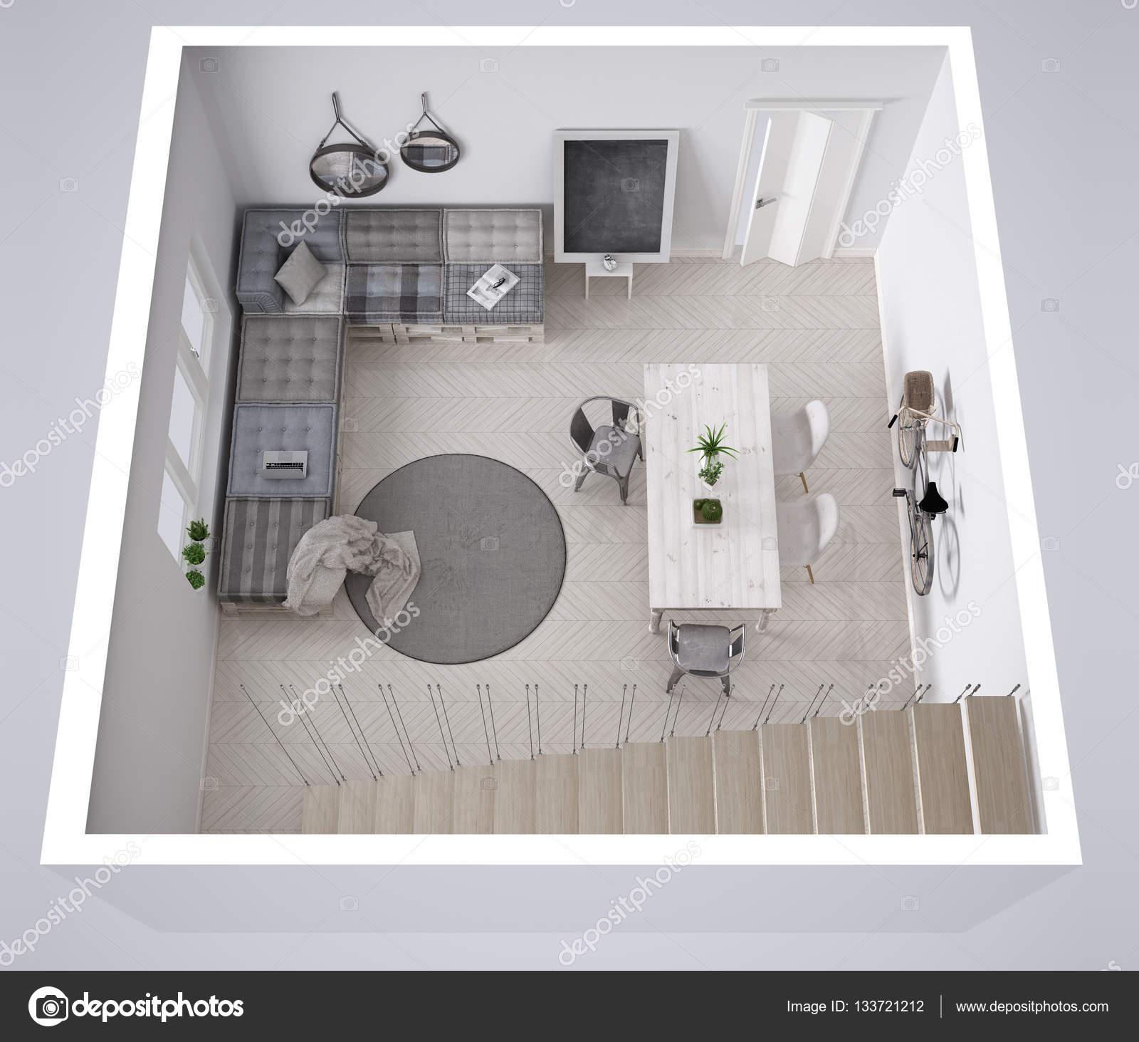 Skandinavische weiß mit Diy Palette Couch Sofa innen d Leben ...