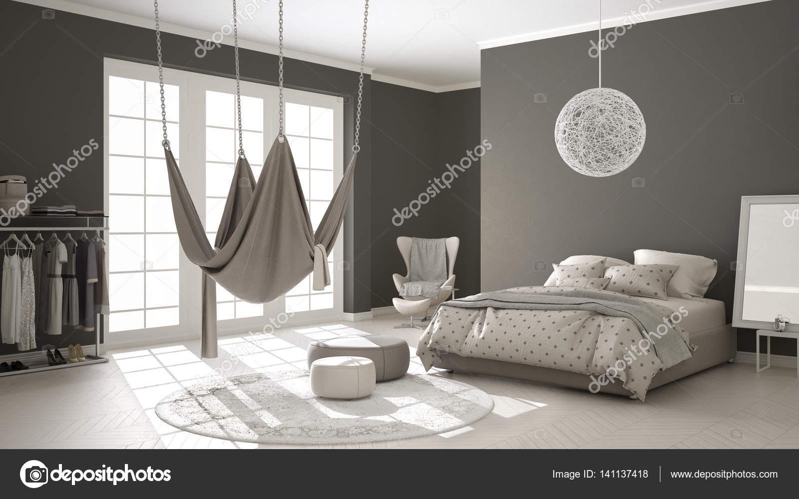 Camere Da Letto Design Minimalista : Camera da letto classica design minimalista degli interni con