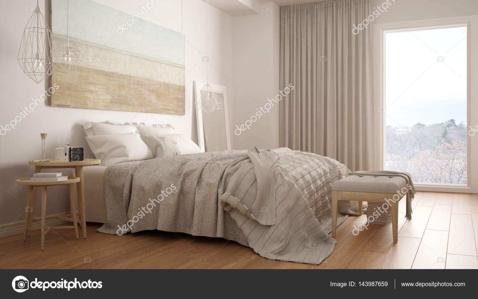 Camere Da Letto Design Minimalista : Camera da letto classica stile moderno scandinavo minimalista