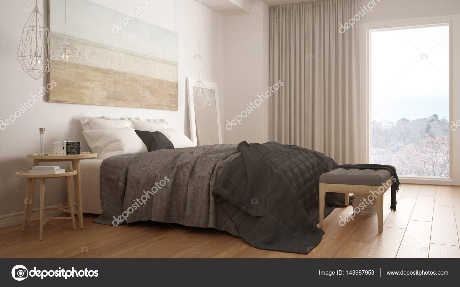 Slaapkamer Scandinavische Stijl : Klassieke slaapkamer moderne scandinavische stijl