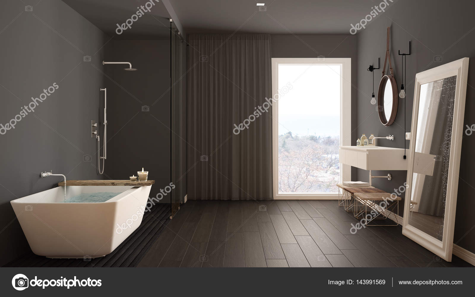 Globe Luminaire Salle De Bain ~ salle de bain classique design int rieur minimaliste moderne