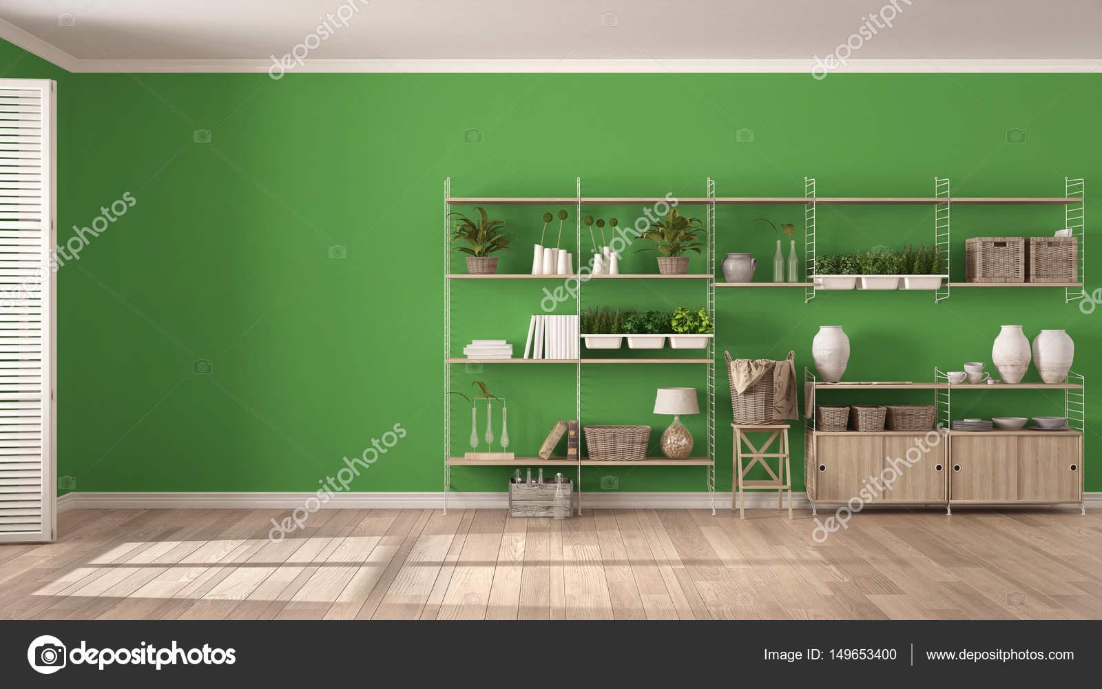 Arredamento Legno Fai Da Te.Eco Verde E Bianco Arredamento Con Libreria In Legno Fai Da Te V