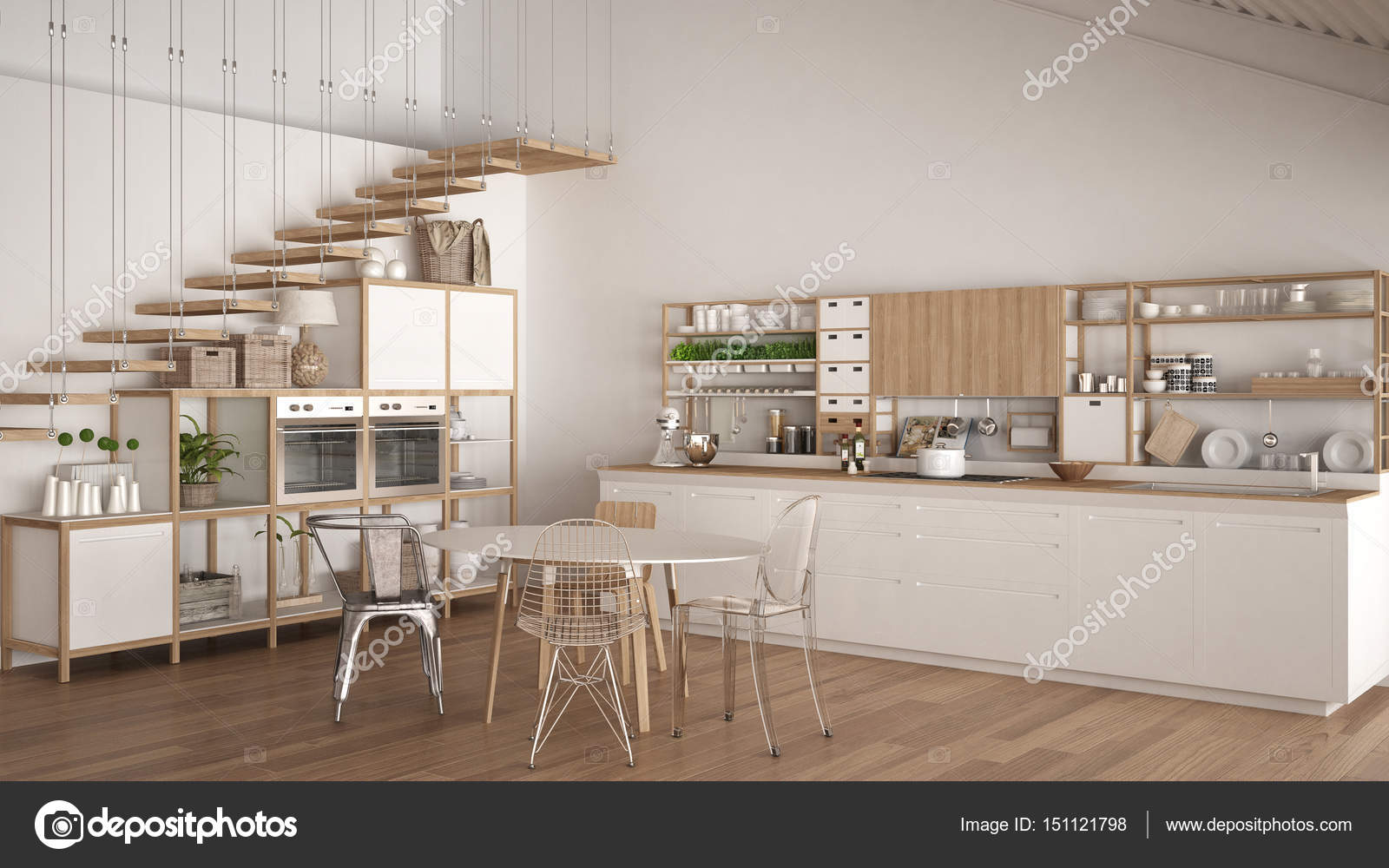 Best cucina con soppalco images ideas design 2017 for Cocinas minimalistas