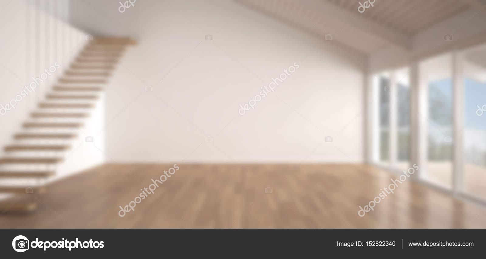 Vervagen de achtergrond interieur minimalistische mezzanine loft