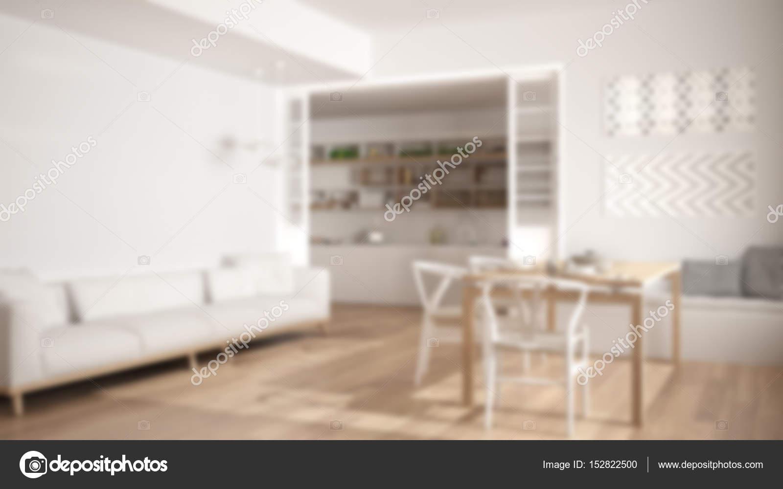 Design D Interieur Fond Flou Cuisine Minimaliste Et Vie R