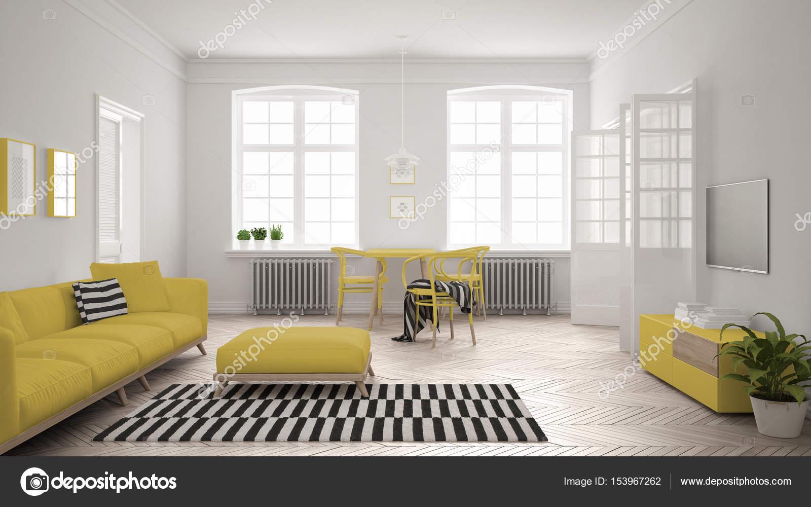 Großartig Sofa Scandi Das Beste Von Bright Minimalist Living Room With And Dining