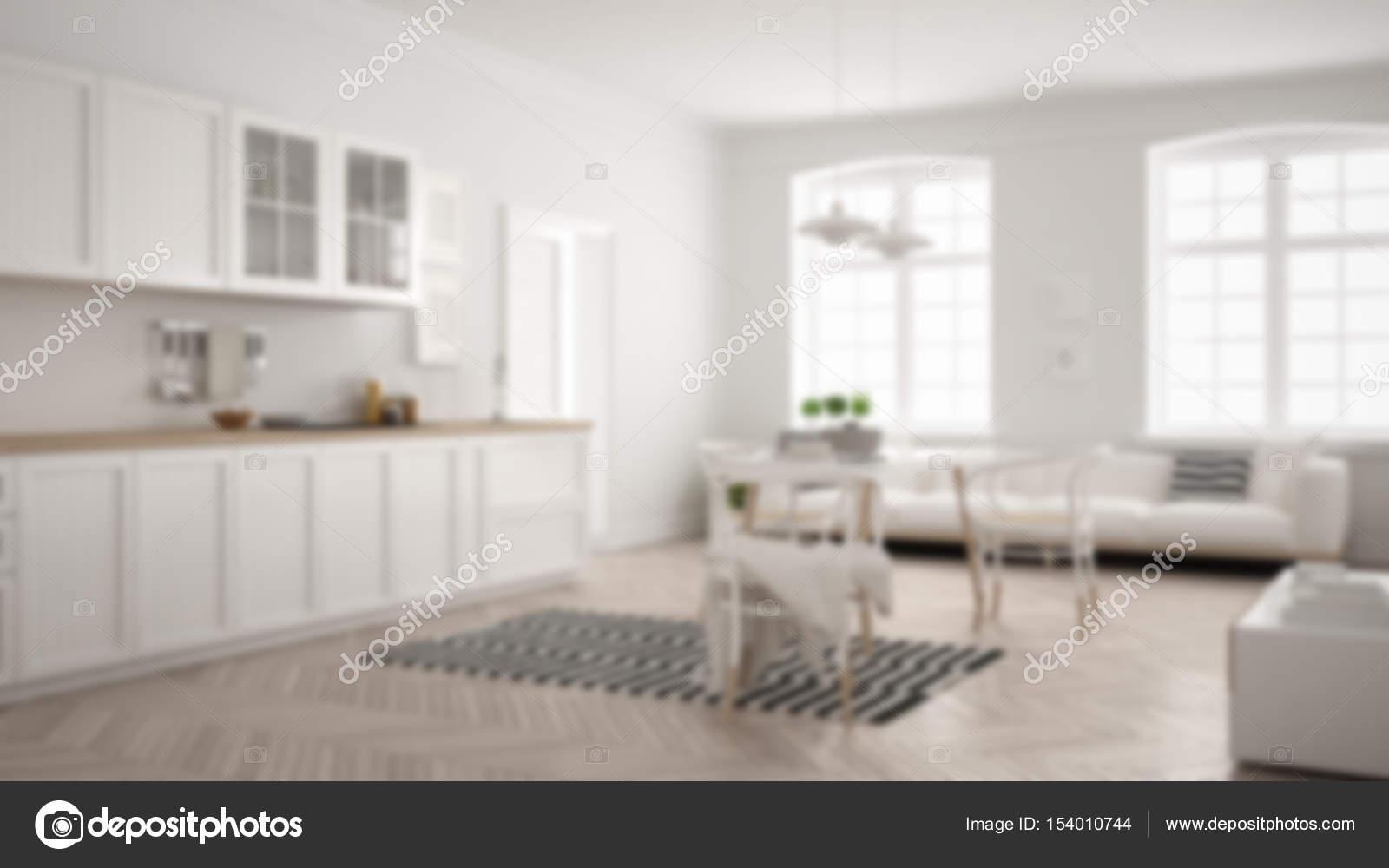 Unschärfe hintergrund interior design minimalistische moderne