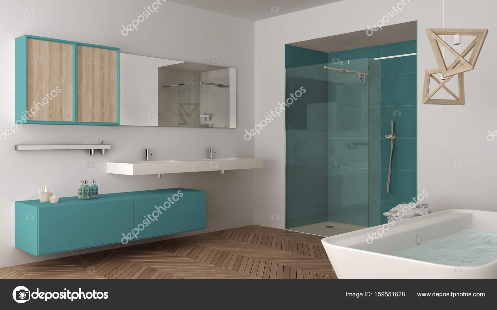 Vasca Da Bagno Con Lavabo : Bagni moderni con vasca incassata bagno moderno con vasca