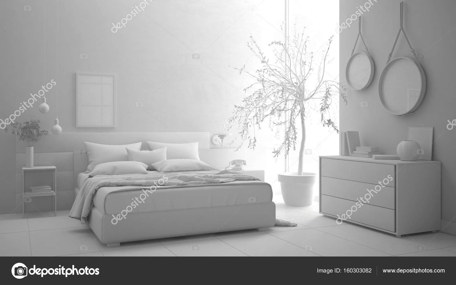Total del proyecto blanco de dormitorios modernos dise o for Diseno de dormitorio blanco