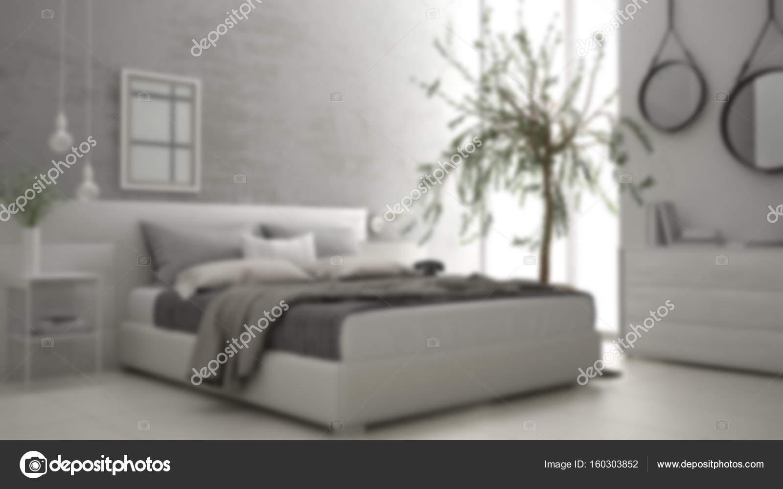 Camere Da Letto Design Minimalista : Sfocatura sfondo interior design spirito minimalista camera da