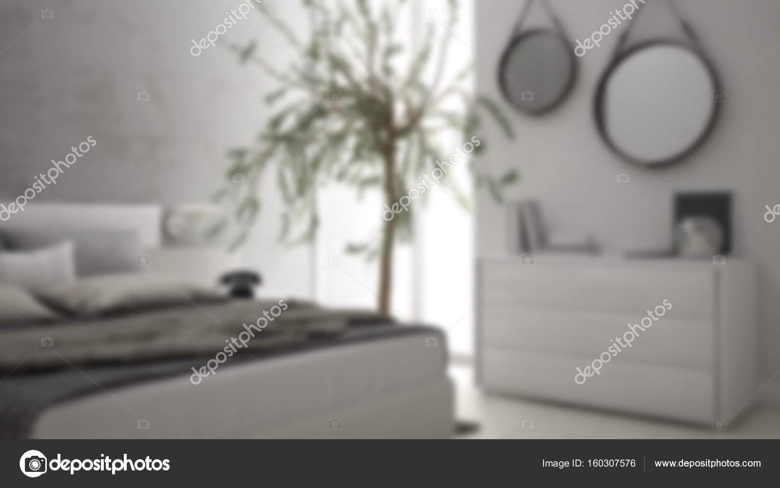 Unschärfe hintergrund interior design minimalistisch modernen
