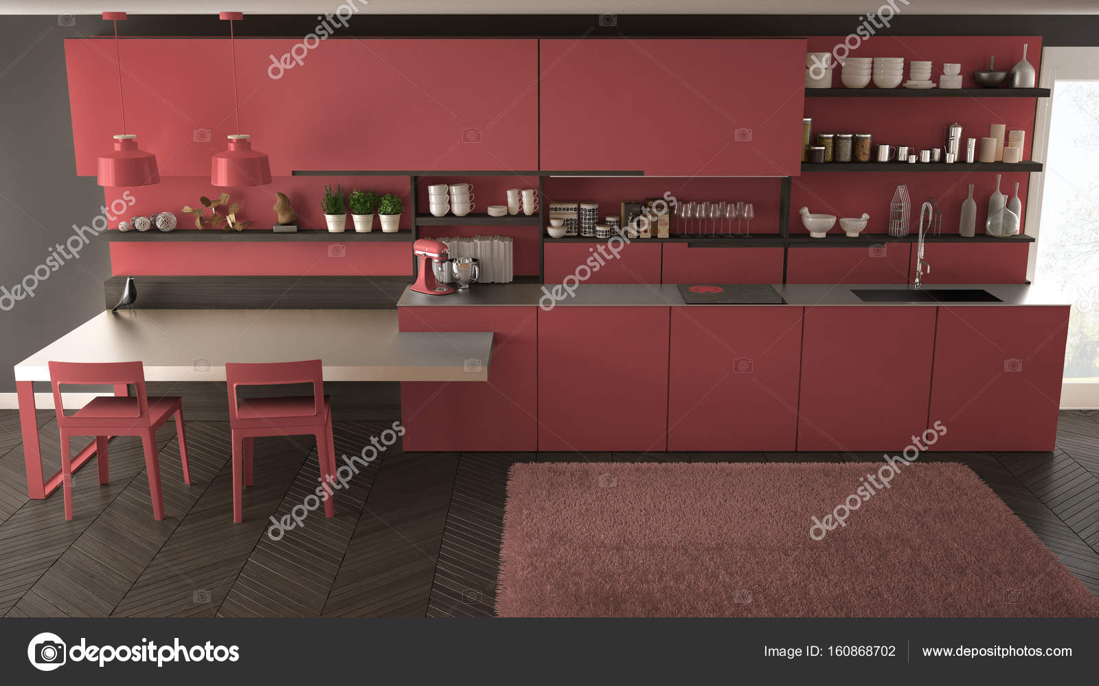 Kamer interieur met tafel u stockfoto photographee eu