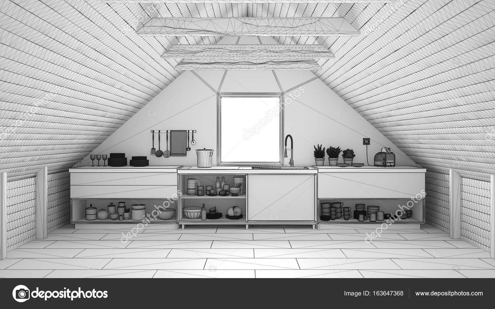 Projeto Inacabado De Cozinha Industrial De Escandin Via Sot O Mezza