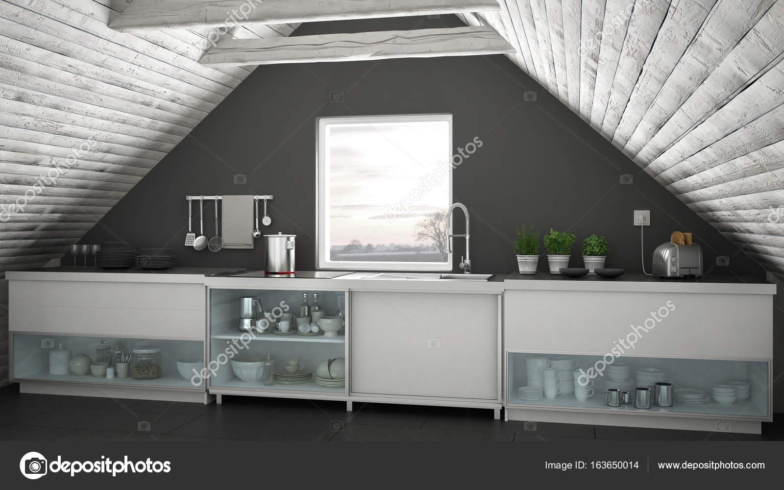 Imágenes: una cocina industrial | Cocina industrial escandinavo ...