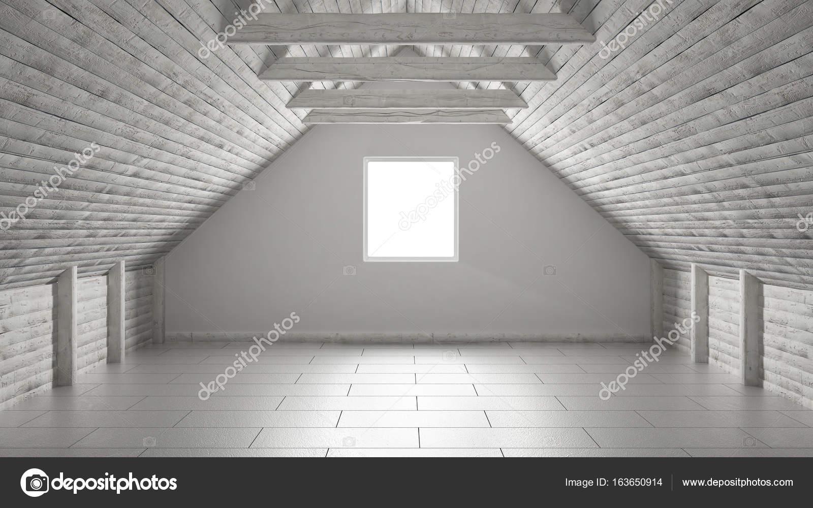 Lege ruimte mezzanine loft dak architectuur interieurontwerp