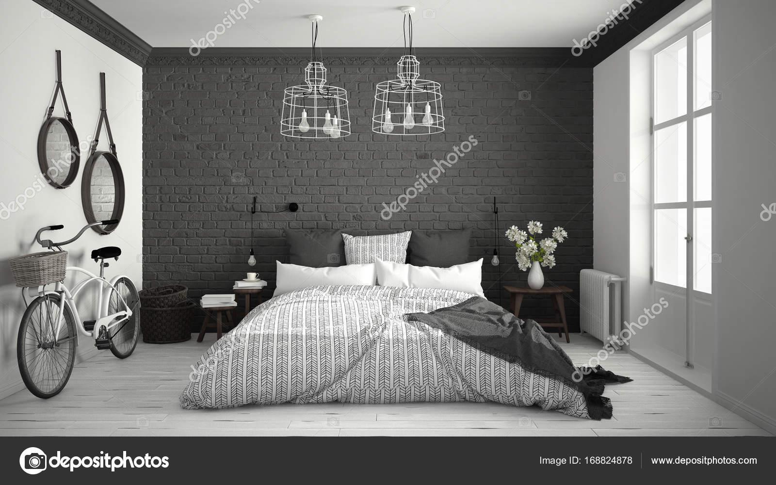 Camera Da Letto Bianco E Grigio : Come scegliere il colore delle pareti della camera da letto foto