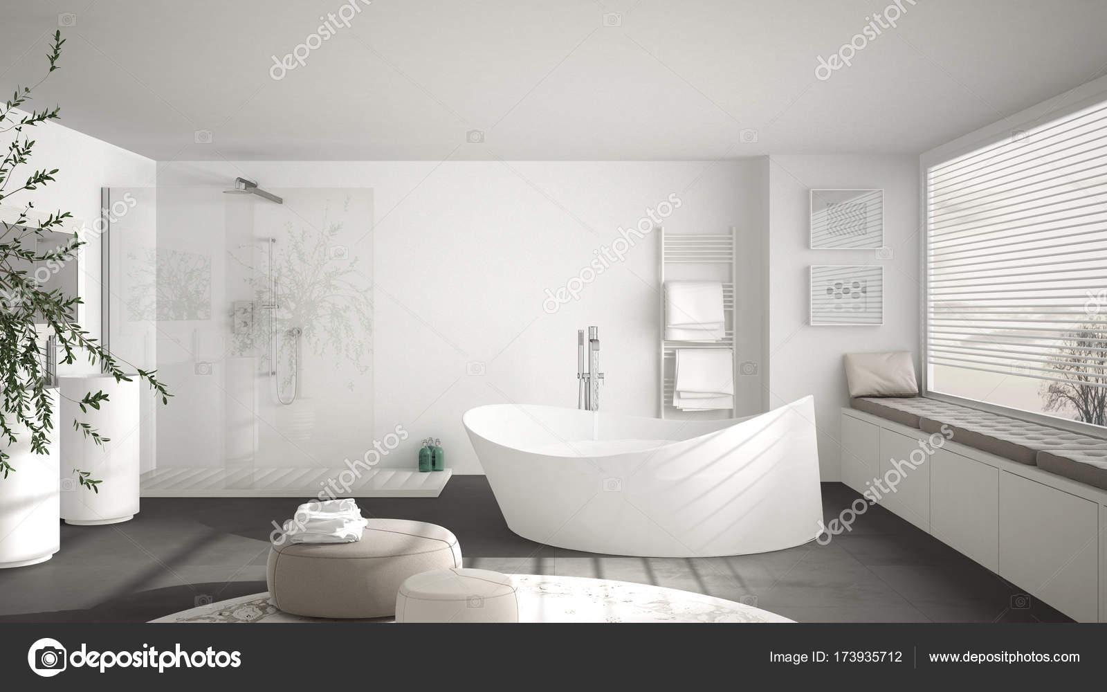 Globe Luminaire Salle De Bain ~ salle de bain classique moderne avec gros tapis rond grand