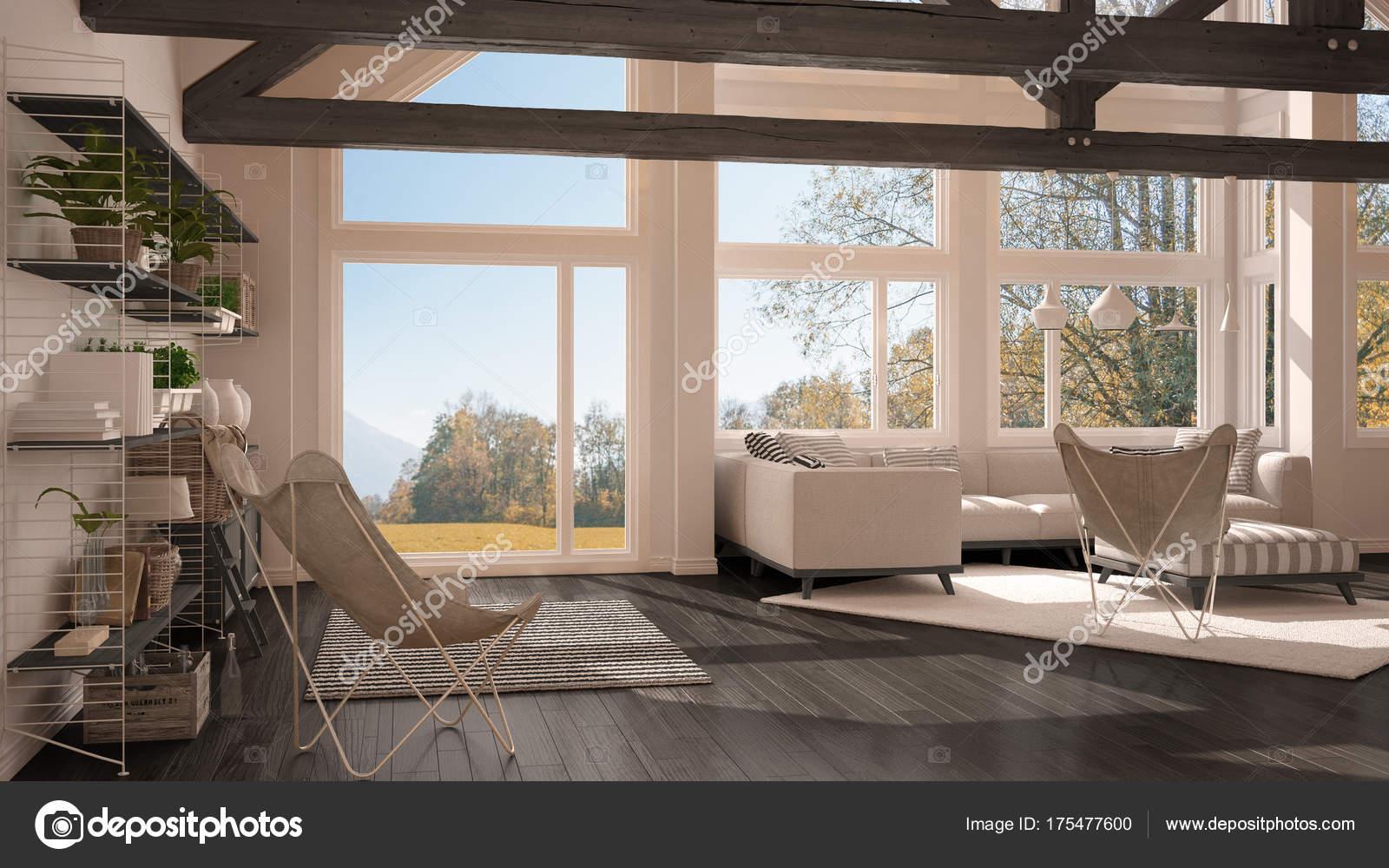 Arredamento Soggiorno Moderno Di Lusso.Soggiorno Di Lusso Eco House Pavimento In Parquet E Tetto