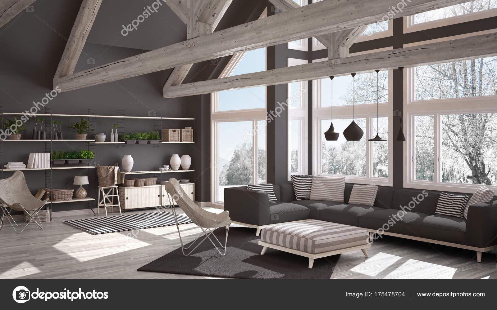 Wohnzimmer Luxus | Wohnzimmer Luxus Oko Haus Parkettboden Und Holzdach T Stockfoto