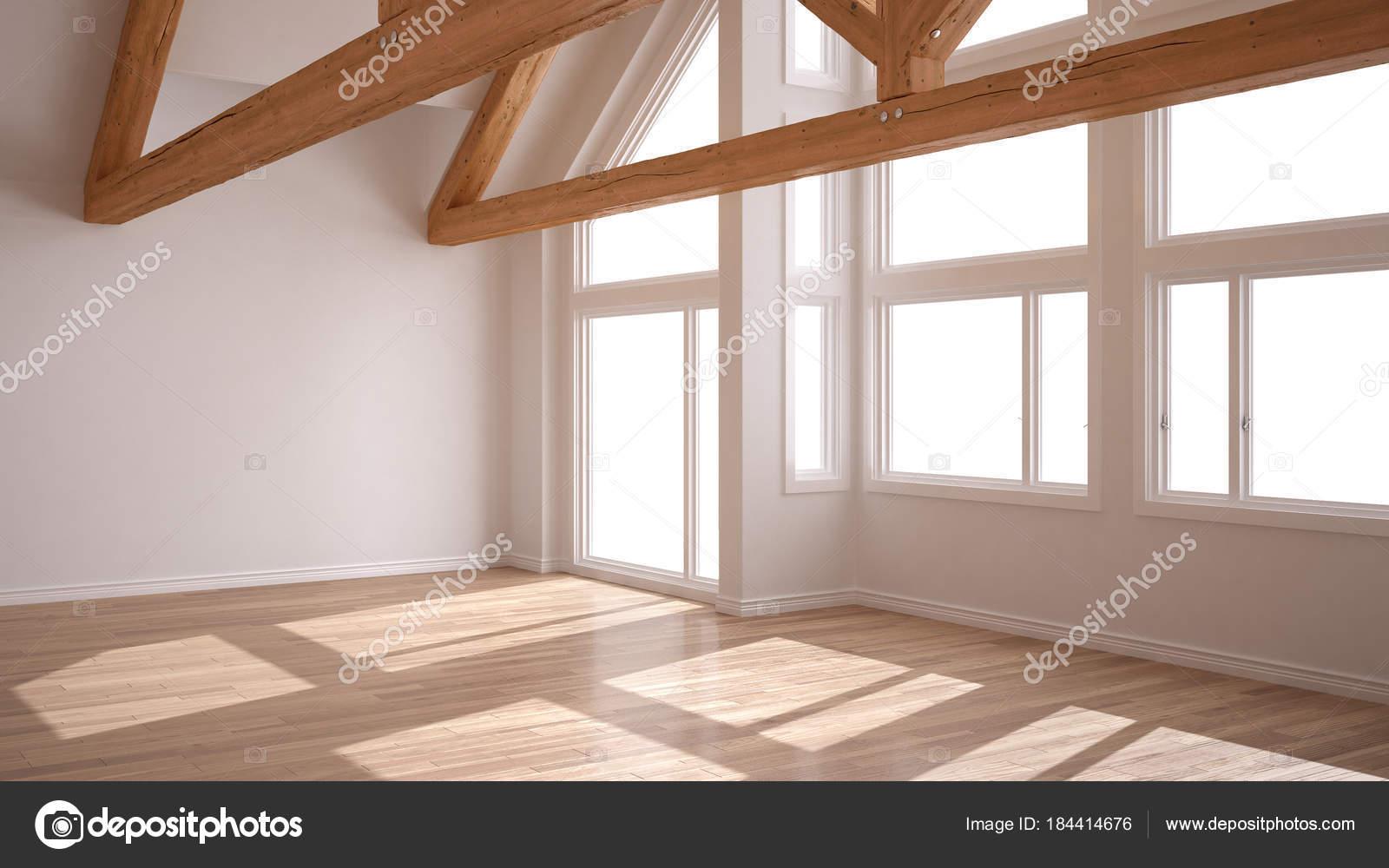 Vider La Chambre Dans La Maison Ecologique De Luxe Sol En Parquet