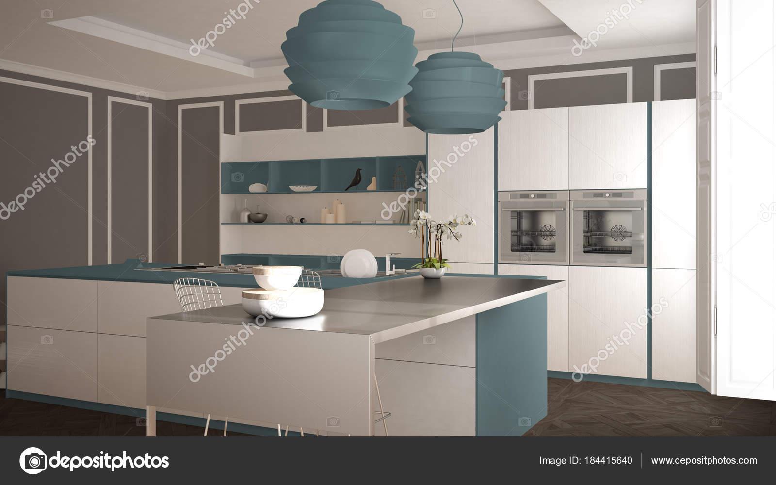 Ausgezeichnet Küchendesign Mit Zwei Inseln Fotos - Ideen Für Die ...