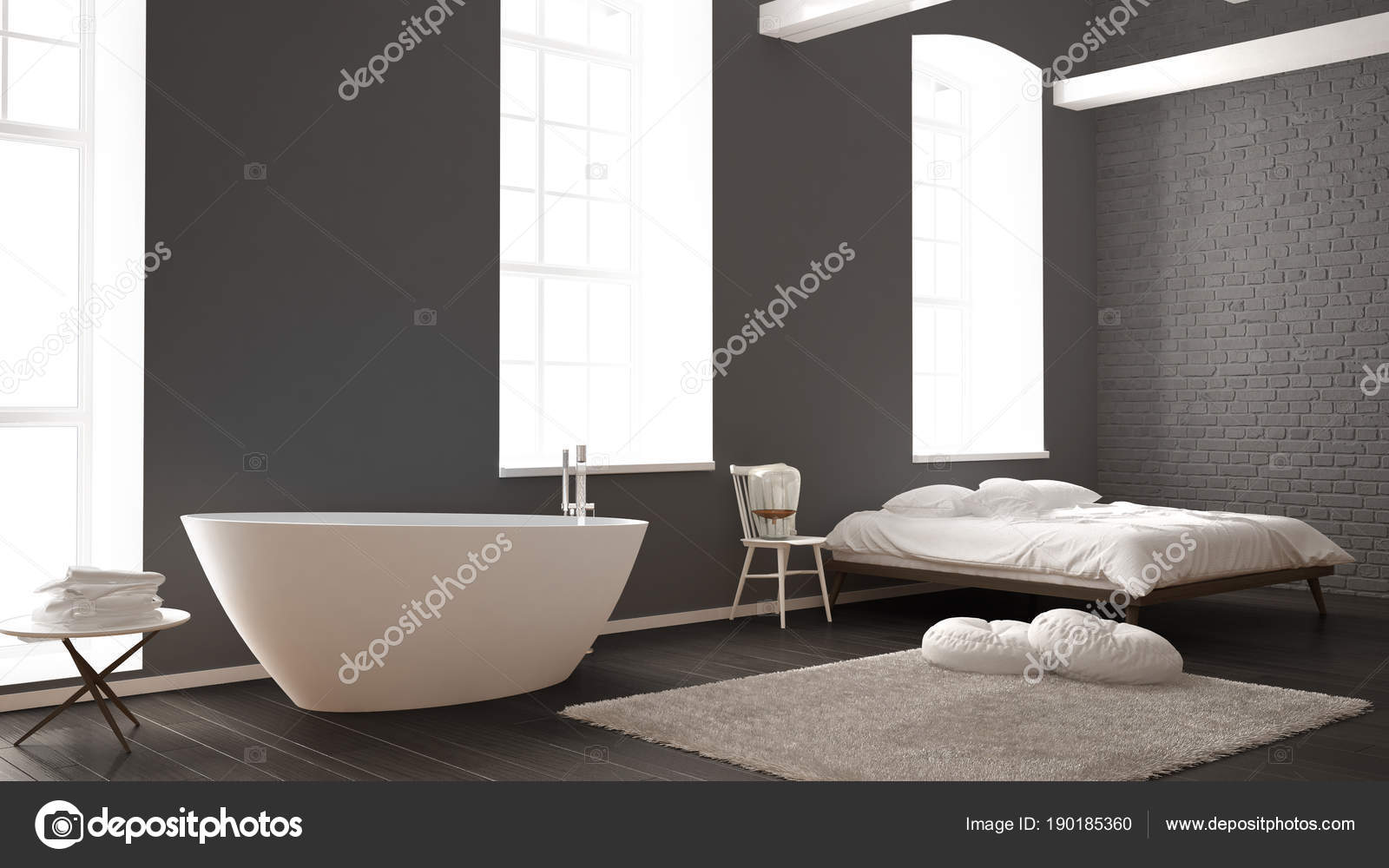 Vasca Da Bagno In Camera : Vasca idromassaggio per camera degli ospiti