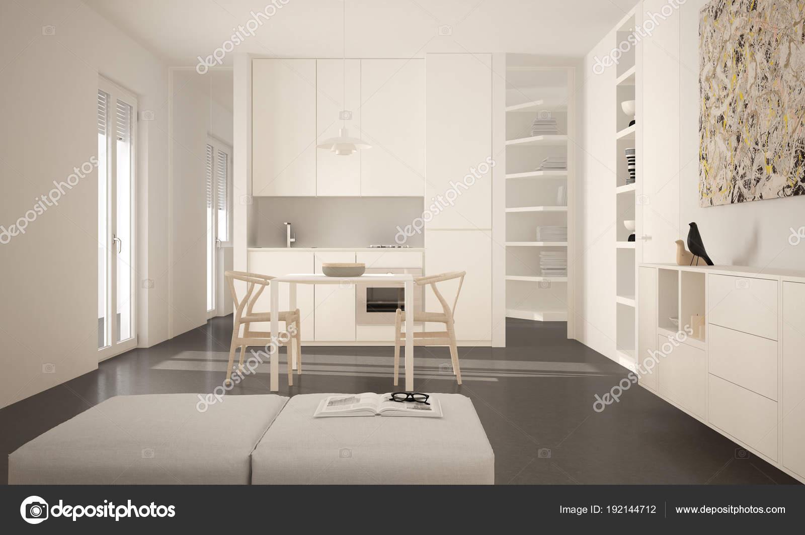Großartig Esstisch Stuehle Modern Ideen Von Minimalistische Moderne Helle Küche Mit Und Stühle,