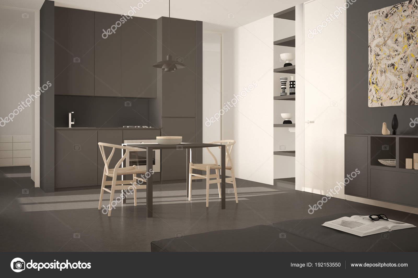 Verzauberkunst Esstisch Stuehle Modern Dekoration Von Minimalistische Moderne Helle Küche Mit Und Stühle,