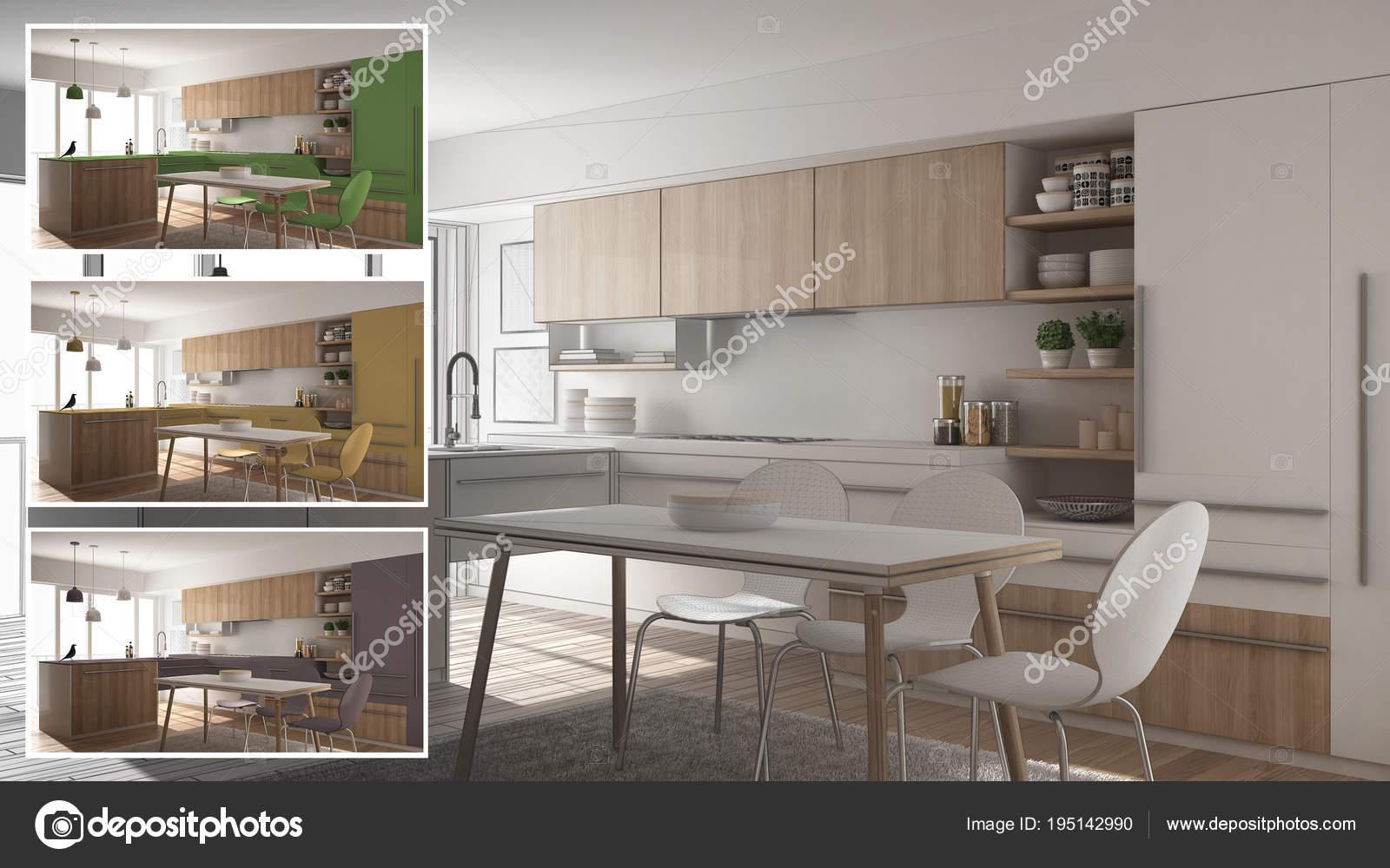 Koncepcja Projektanta Architekta Kuchnia Kolory Wnętrz