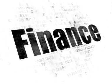 Finance concept: Finance on Digital background
