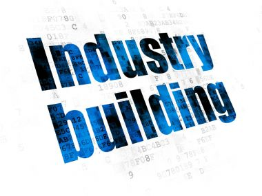 Industry concept: Industry Building on Digital background