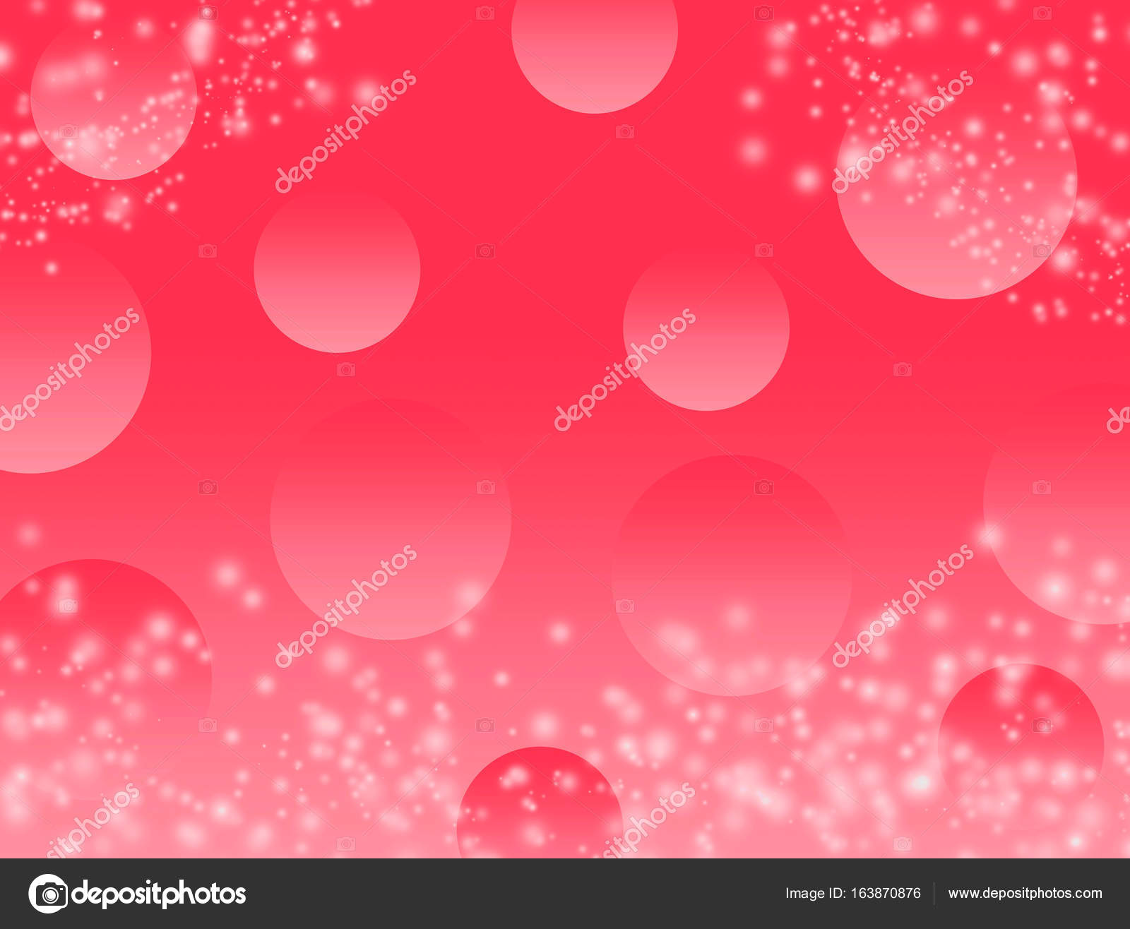 Red Bokeh Abstract Background Wallpaper Glitter Diamond For Wedding And Christmas Festival Concept Copy Space
