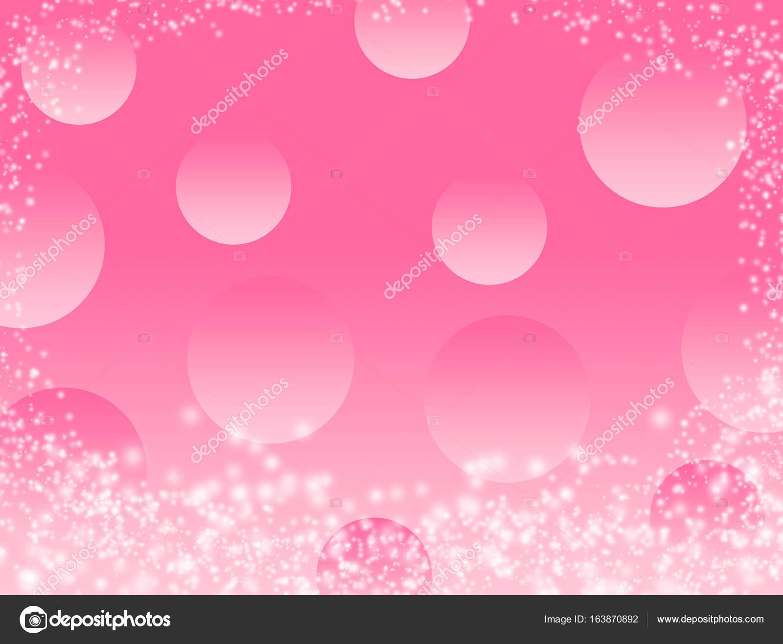 Rosa Bokeh abstrakten Hintergrund Tapeten Glitzer Diamant ...