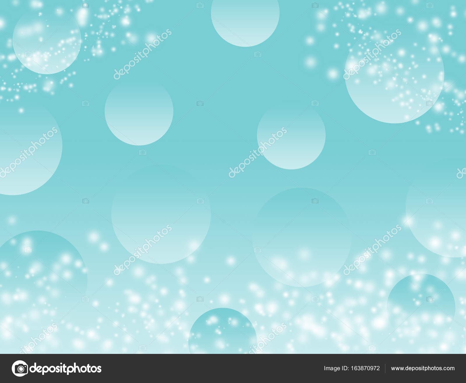 Light Blue Diamond Wallpaper Blue Sky Or Green Color Bokeh