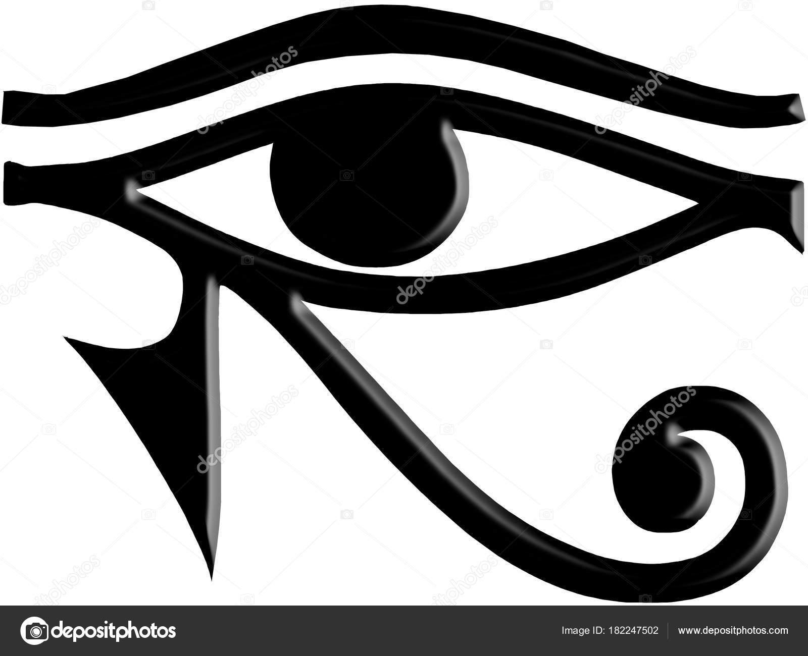 Eye Horus Egyptian Symbol Stock Photo Adrianarad1991 182247502