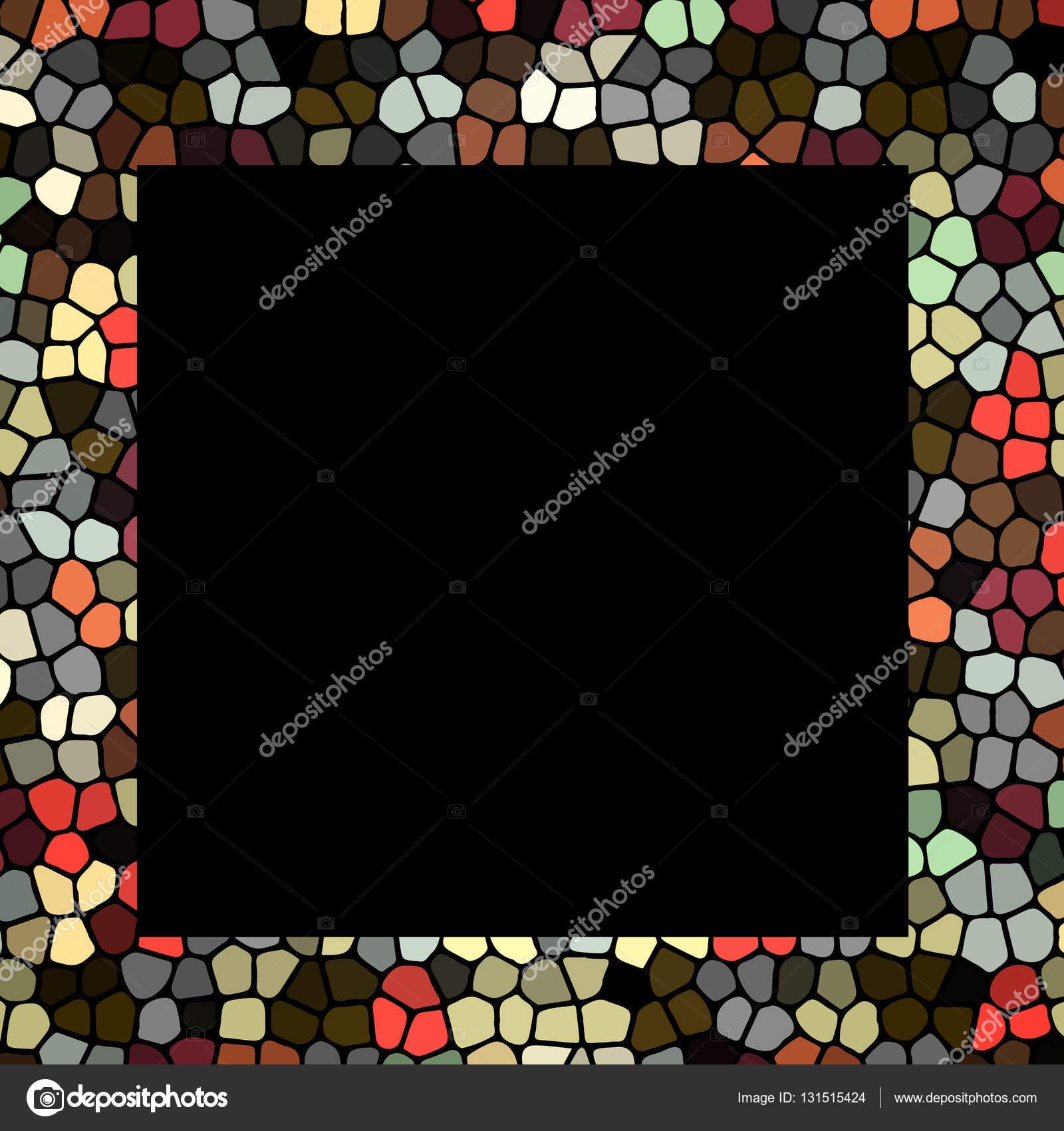 Retro-Mosaik-Rahmen — Stockvektor © A-R-T-U-R #131515424