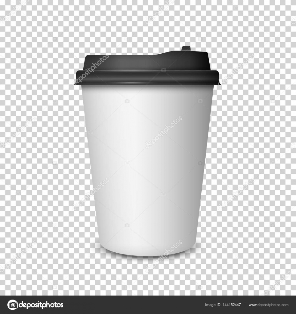 coffee cup on transparent background stock vector a r t u r