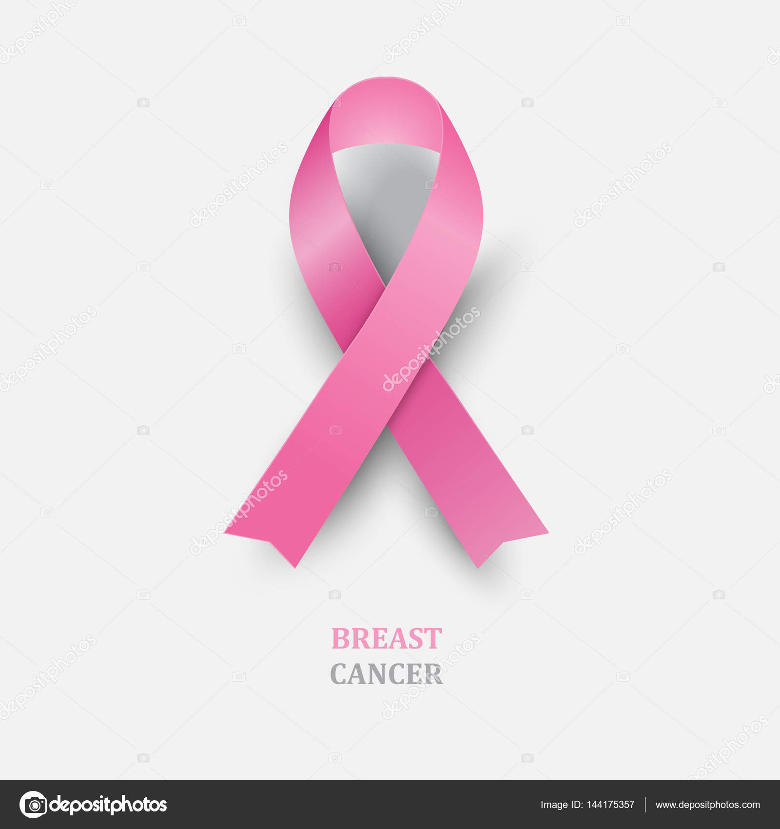 Pink ribbon breast cancer awareness stock vector a r t u r pink ribbon breast cancer awareness concept symbol breast cancer awareness month vector illustration vector by a r t u r biocorpaavc Choice Image