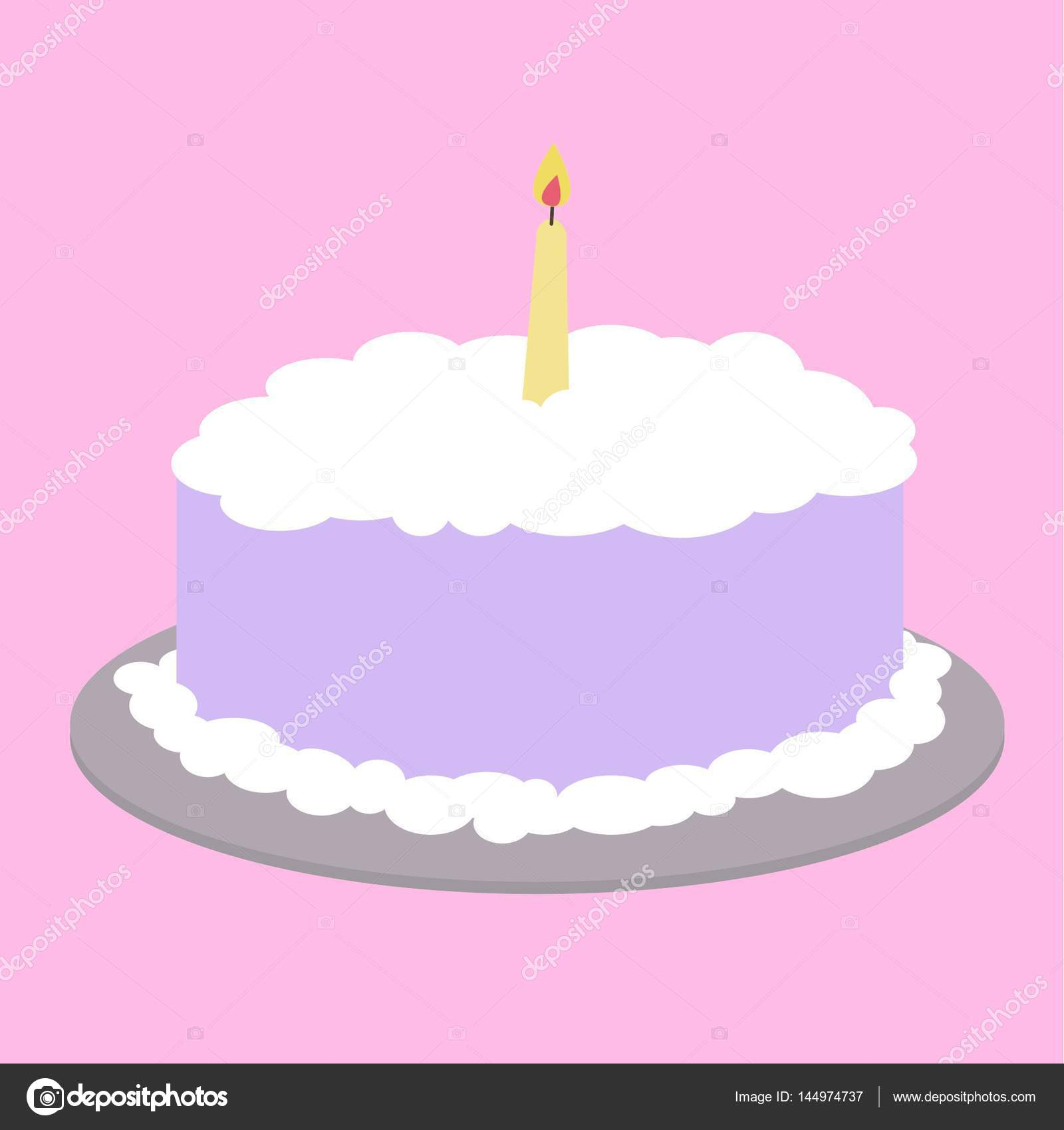 Violette Kuchen Clipart Grafiken Stockfoto Grafff 144974737