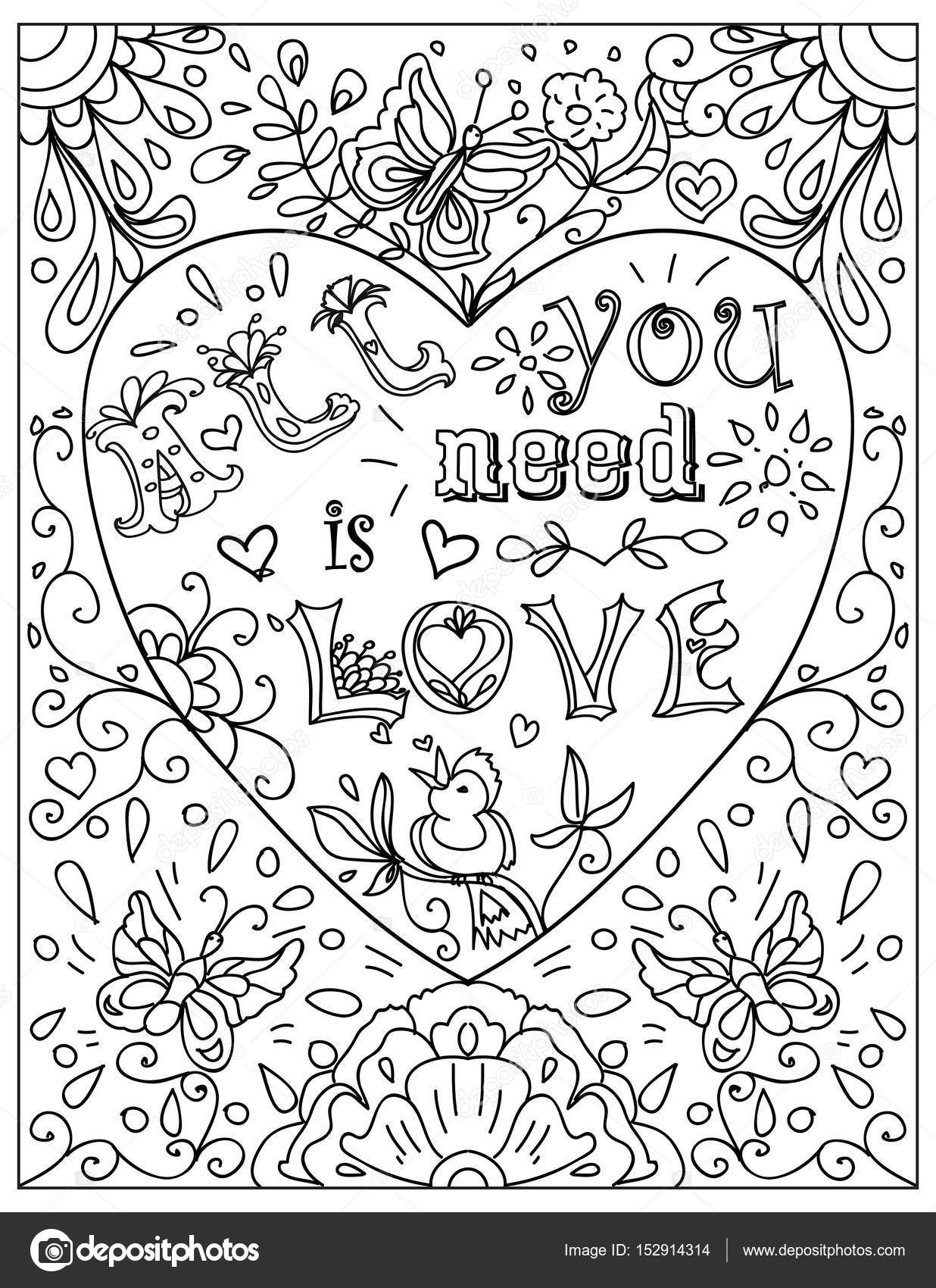 Kleurplaten Geloof Hoop En Liefde.Liefde Kleurplaat