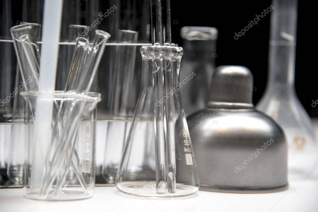 Glass Equipment for Scientific Experiments