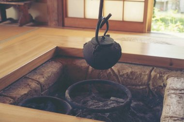 Ancient Japanese Tea House