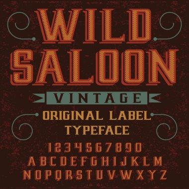 Font Wild Saloon
