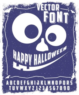 Happy Halloween typeface
