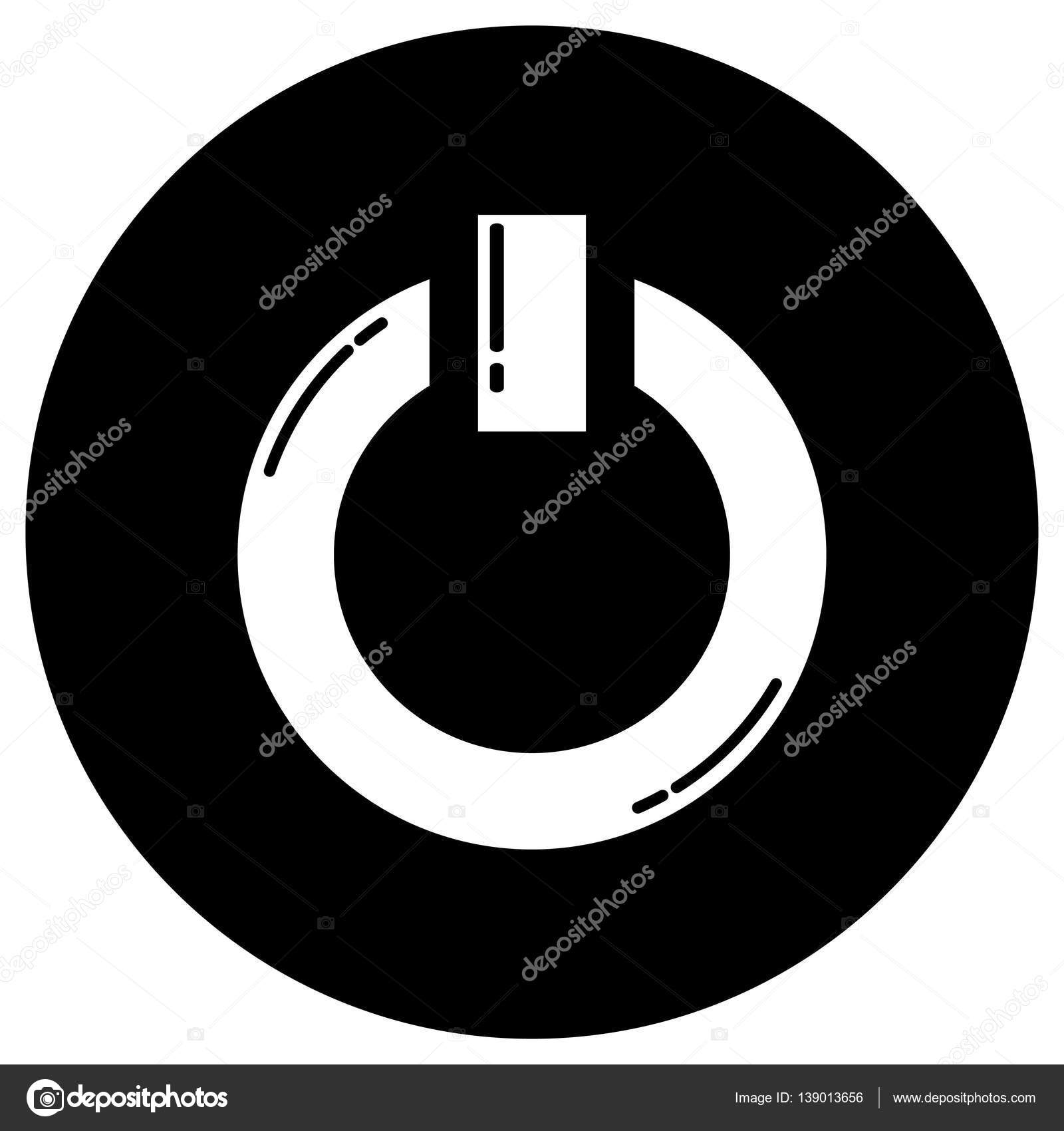 Power Onoff Icon Stock Vector Bowxwod 139013656