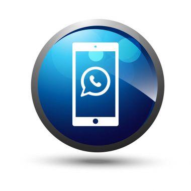 3D smartphone icon