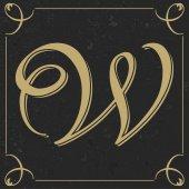 Starý styl dopisu design